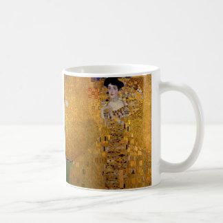 グスタフのクリムト1907年によるアデールBloch-Bauerのポートレート コーヒーマグカップ