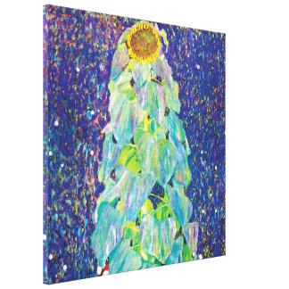 グスタフのクリムト-ヒマワリのファインアートの絵画 キャンバスプリント