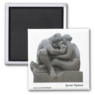 グスタフVigelandの彫刻-オスロ、ノルウェー-磁石 マグネット