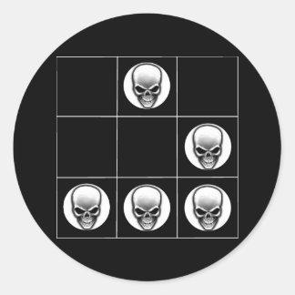 グライダー: 普遍的なハッカーの紋章のステッカー ラウンドシール