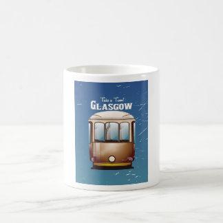 グラスゴーのヴィンテージの市街電車旅行ポスター コーヒーマグカップ