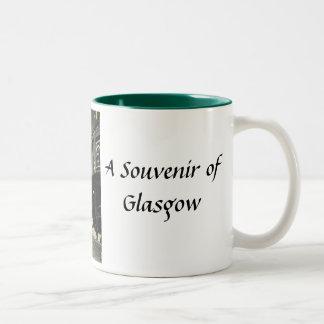 グラスゴーの記念品のマグ ツートーンマグカップ