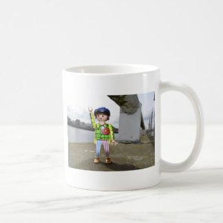 グラスゴーのminiman コーヒーマグカップ