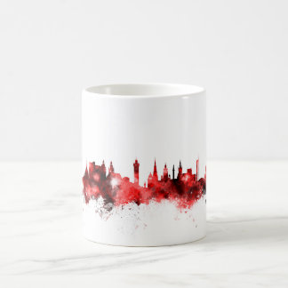 グラスゴースコットランドのスカイライン コーヒーマグカップ