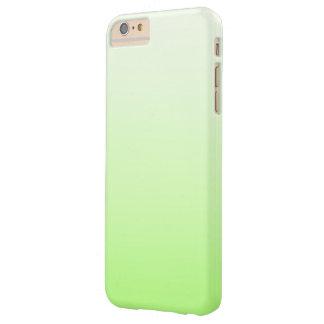 グラデーションなかわいいライムグリーン BARELY THERE iPhone 6 PLUS ケース