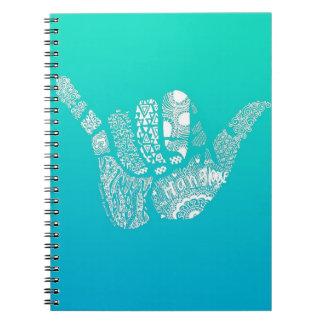 グラデーションなこつはノートを緩めます ノートブック