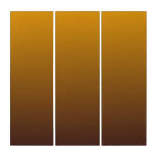 グラデーションなぴりっとする金ゴールドブラウン トリプティカ