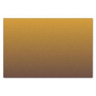 グラデーションなぴりっとする金ゴールドブラウン 薄葉紙