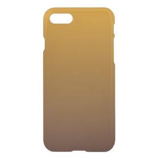 グラデーションなぴりっとする金ゴールドブラウン iPhone 8/7 ケース