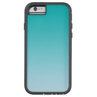 グラデーションなティール(緑がかった色) TOUGH XTREME iPhone 6 ケース