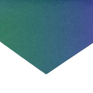 グラデーションなプラシ天の孔雀 薄葉紙