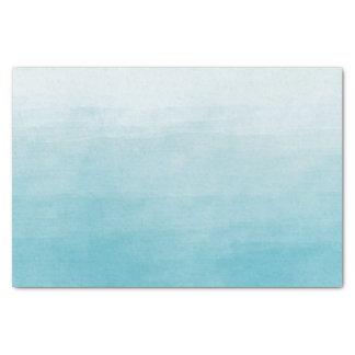 グラデーションな水の至福の水彩画 薄葉紙