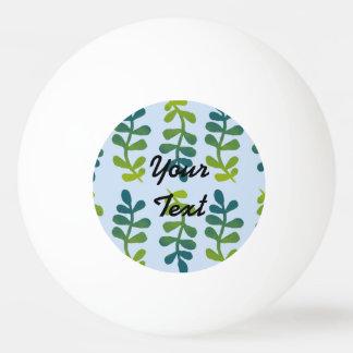 グラデーションな熱帯葉 卓球ボール