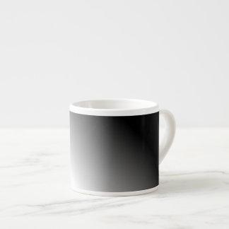 グラデーションな白黒 エスプレッソカップ