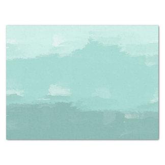 グラデーションな真新しい水彩画 薄葉紙