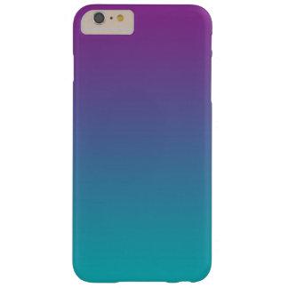 グラデーションな紫色及びティール(緑がかった色) BARELY THERE iPhone 6 PLUS ケース
