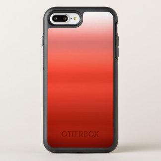 グラデーションな赤い水彩画 オッターボックスシンメトリーiPhone 8 PLUS/7 PLUSケース