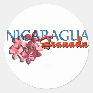 グラナダニカラグア ラウンドシール