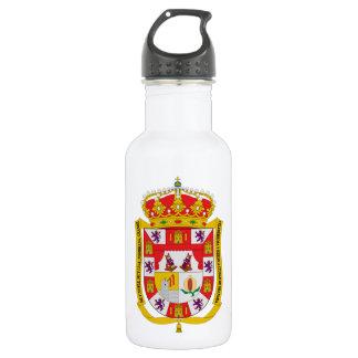 グラナダ(スペイン)の紋章付き外衣 ウォーターボトル