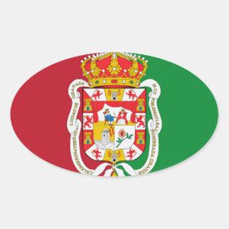 グラナダ(スペイン) 楕円形シール