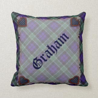 グラハムのスコットランドの一族のタータンチェック-格子縞 クッション