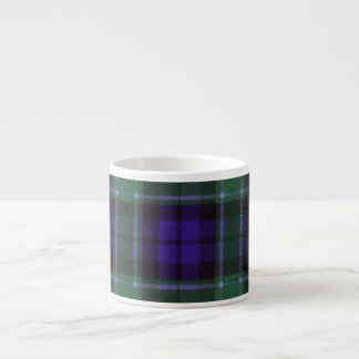 グラハムの一族の格子縞のスコットランド人のタータンチェック エスプレッソカップ