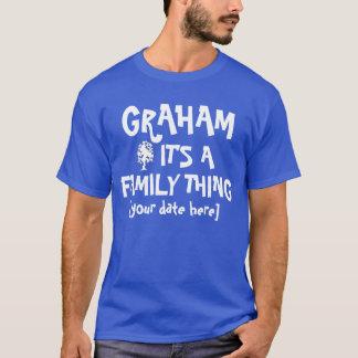 グラハムの家族会 Tシャツ