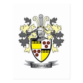 グラハムの家紋の紋章付き外衣 ポストカード