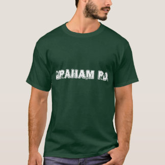 グラハムの道音楽乗組員のワイシャツ Tシャツ