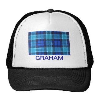 グラハムスコットランド家族のタータンチェック 帽子