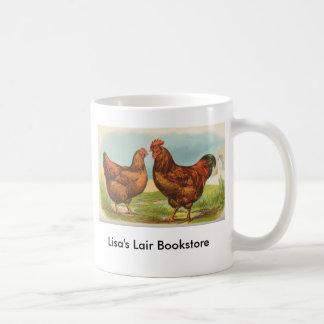 グラハム-ロードアイランド赤の鶏B/storeの広告宣伝 コーヒーマグカップ