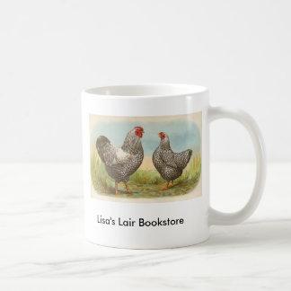 グラハム-銀によってWyandotteのひもで締められる鶏 コーヒーマグカップ