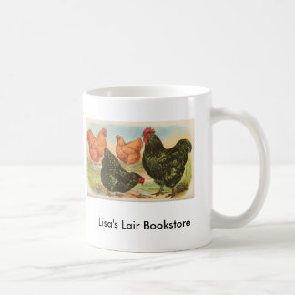グラハム- Orpingtonの鶏の本屋の広告宣伝 コーヒーマグカップ
