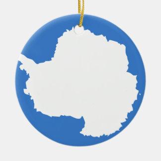グラハムBartramの旗南極大陸 セラミックオーナメント
