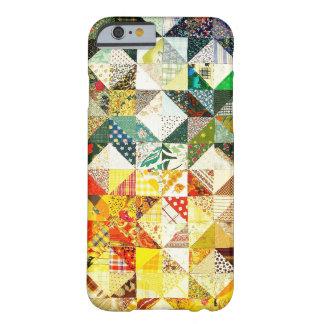 グラファイトの抽象的で旧式ながらくたのスタイルのファッションの芸術S BARELY THERE iPhone 6 ケース