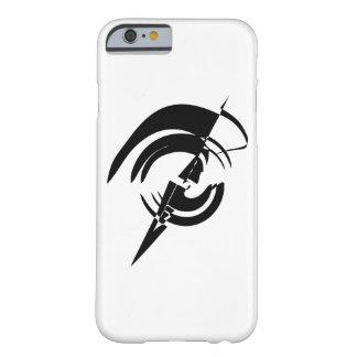 グラフィックアートの円のロゴのベクトルデザイン BARELY THERE iPhone 6 ケース