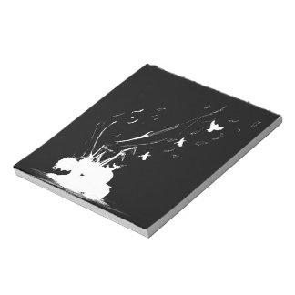 """グラフィック・デザインのスケッチブック5.5"""" x 6"""" ノートパッド"""