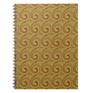 グラフィック・デザインの写真の美術のギフト ノートブック