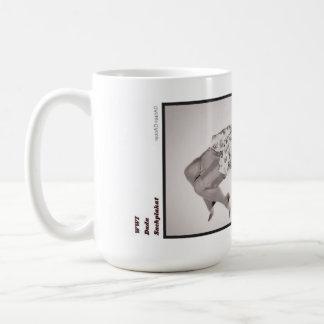 グラフィック・デザインの歴史のマグ: WWI コーヒーマグカップ