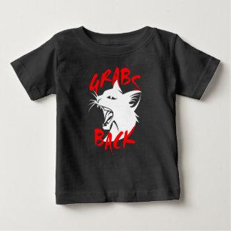 グラブのベビーの暗いジャージーのTシャツ ベビーTシャツ