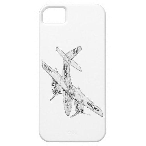 グラマン|F7F|Tigercat|飛行機 iPhone 5 Case-Mate ケース