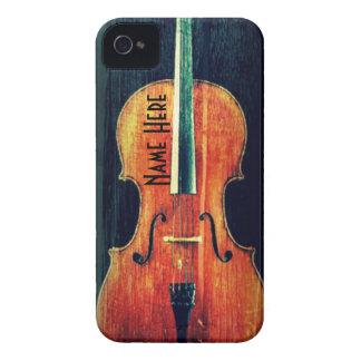 グランジか名前入りなチェロのカッコいい Case-Mate iPhone 4 ケース