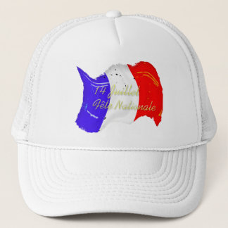 グランジでフランスのな旗の帽子 キャップ