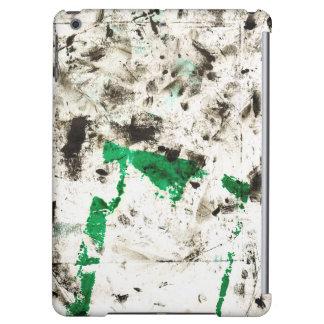 グランジで抽象的な場合の精通した無光沢のiPadの空気箱 iPad Airケース