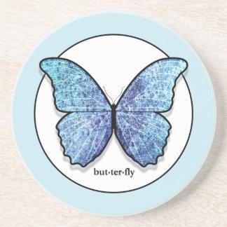グランジで青い蝶コースター コースター