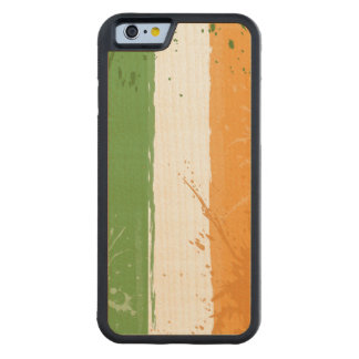 グランジなアイルランドのアイルランド人の旗 CarvedメープルiPhone 6バンパーケース