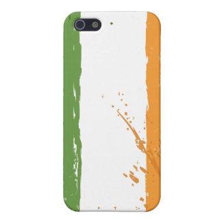 グランジなアイルランドのアイルランド人の旗 iPhone 5 COVER
