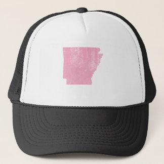 グランジなアーカンソーのピンクのヴィンテージ キャップ