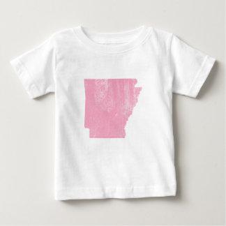 グランジなアーカンソーのピンクのヴィンテージ ベビーTシャツ