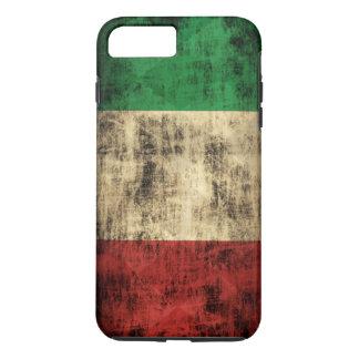 グランジなイタリアンな旗のヴィンテージ iPhone 8 PLUS/7 PLUSケース